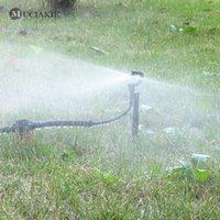 Muciakie 50 adet 24 cm 180 Derece Bahçe Sulama Misulleri Mikro Damızlık Sprinkler Sprey Bahçe Malzemeleri Kafa 201204