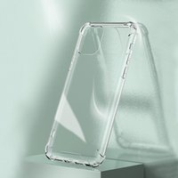 Phone Case For IPhone 12 Pro MAX Case 8 7 Plus 1.5MM Anti Case TPU Samsung S20 Phone Cover
