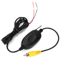 2.4 GHz 무선 후면보기 카메라 RCA 비디오 송신기 수신기 키트 자동차 백미 모니터 리버스 백업 카메라 캠 GPS