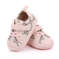 Новорожденные детские ботинки весенние мягкие нижние кроссовки детские мальчики нескользящие туфли первые ходунки 0-18 месяцев
