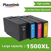 Cartouches d'encre PLAVETINK Comactible PGI 1500 XL pour Canon Maxy MB 2050 2150 2300 2350 2355 Jet d'encre Cartouche Imprimante PGI1500XL