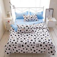 Set di biancheria da letto 35 4 pezzi Ragazza Boy Kid Bed Cover Set DUVET Adult Bambino fogli e federe consolatore 2TJ-610111