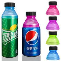 Drinkware غطاء استبدال الصودا يغطي متعدد الألوان pp علب البيرة التسرب يمكن أن صنبور المسمار غطاء بلدي INF0669