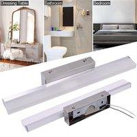7W 40 cm y lámpara inteligente Barra de baño Plata Luz blanca Luz de alto brillo Iluminación de material de calidad superior