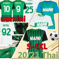 4XL 20/21 Sassuolo Calcio Soccer Maillots de football 2021 Sassuolo Home Lirola Prince Shak Soccer Shirt Matin Sernicola Away Football Uniforme
