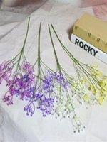 웨딩 파티 홈 장식 꽃다발에 대한 58CM Gypsophila 인공 꽃 인공 꽃 실크 가짜 폼은 리딩 꽃