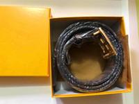 뜨거운 판매 새로운 남성 여자 블랙 벨트 가죽 비즈니스 벨트 선물 1z57r에 대 한 순수한 컬러 벨트 뱀 패턴 버클 벨트