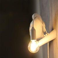 Italienisch Seletti Vogel Wandlampe LED Tier Möbel Wandleuchte Vogel Sconce Wohnzimmer Schlafzimmer Nachtwohnkultur Leuchten