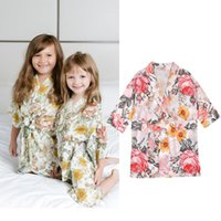 Autumn Bathing Bathrobe Toddler Baby Girls Children Kids Lon...