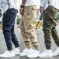 Fashion Streetwear Men Joggers Pants Spliced Designer Slack ...