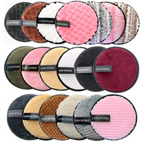 Многоразовые хлопковые колодки для съемки макияжа Pept Wipes Microfiber макияж удаление губка для удаления хлопка очистки