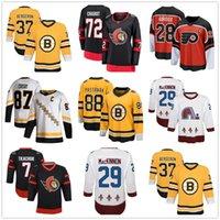BOSTON BRUINS FLYERS Rangers Ottawa Senatoren Thomas Chabot Fanatik Colorado Avalanche Nathan Mackinnon Weiß 2020 Spieler Yakuda Best Sport