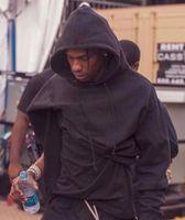 Erkek Hoodies Tişörtü Sonbahar Astroworld Tasarımcı Hoodie Uzun Kollu Moda Rahat Gevşek Hip Hop Siyah S-XL