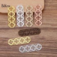 Boyute (50 조각 / 많이) 15 * 47mm 금속 황동 선조 플레이트 찾기 DIY 수제 보석 재료 도매