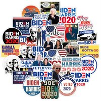 자동차 스티커 Biden Harries 편지 스티커 미국 대통령 Joe Biden 포스터 Notecase 데칼 수하물 Gita Paster 100pcs / 세트 E111801