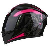 Modo moto moto corse casco uomo e donne casco integrale del viso a quattro stagioni a doppio obiettivo personalità parkour casco protettivo