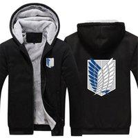 2020 Новый мужской бренд печати атака на титан Хараджуку спортивный хип-хоп Флэш-толстовки повседневные кофты COATS Утолковые куртки