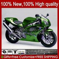 VTR1000 FAIL para HONDA VTR-1000 RC51 00 01 02 03 2004 2005 2006 98HC.206 GLOSSY GREEN VTR 1000 SP1 SP2 2000 2001 2002 2003 04 05 06 Cuerpo