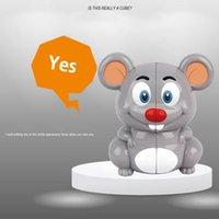 귀여운 동물 팬더 타이거 펭귄 마우스 큐브 장난감 아이 마법 큐브 두뇌 지능 아이 장난감 선물