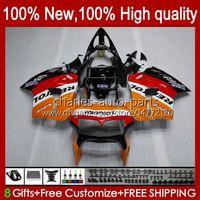 Körper für Honda Interceptor VFR800RR VFR800 98 99 00 01 Karossergebnisse 99HC.0 VFR800R VFR 800RR 800 RR 1998 1999 2000 2001 Verkleidung REPSOL Orange