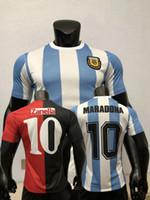 Spielerversion 1986 1993 1994 Newells alte Jungen Camiseta Argentinien Fußball-Jerseys MAILLOT CAMISeta Diego Maradona 86 93 94 Fußball-Hemd