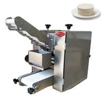 2021 Meilleur prix d'usine Tabletop Pizza / Wonton Dough Skin Faire machine / boulette Gyoza Wrapper Machine Machine 220V