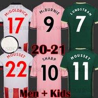 Таиланд 20 21 Sufc Sufc Soccer Technys Mousset Sheffield Kits Mcburnie United 2020 2021 Лундштам Футбол Футбол Футболка Норвуд Оборудование