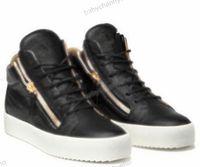 Giuseppe Zanotti GZ hombre Zapatos de corte de bajo corte zapatos para hombres para hombres zapatillas de deporte de cuero fiesta zapatos de lujo zapatos deportivos al aire libre