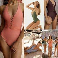 ملابس نسائية مرحبا الأرداف فتاة 2021 قطعة واحدة ملابس السباحة نماذج متفجرة الإناث الأوروبية والأمريكية بلون beachwear1