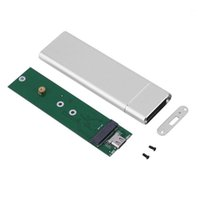 Hubs USB3.1 Type-C إلى M.2 B مفتاح PCIE SSD مربع الصلبة حالة القيادة حالة الإسكان 10 جيجابت في الثانية M2 2280 القرص الصلب العلبة 1