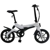유럽 창고 Onebot S6 전기 자전거 성인 2 바퀴 접이식 전기 자전거 50km 36V 250W 6.4Ah 리튬 배터리