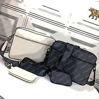 2021 L luxtureux designers sac 69all Cuir Embossé 827 Homme Deux Sacs Two Sacs Pièce - Style Staquet Soft Cowhide Production Trend Fashion