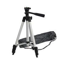 Trépied d'appareil photo numérique de l'aluminium portable universel 4 sections Téléphone Mont Trépied pour Canon Nikon Sony Smartphone