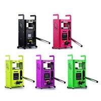 5 가지 색상 이중 열 플레이트 유압 DAB Rosin Tech 열 프레스 기계 KP-4 LTQ VAPR 수동 열 프레스 기계