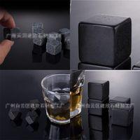 Noir gris granit bar Whisky Stones Multi styles Square Square Square Share Share Ice Wine Stone Nouvelle Arrivée 0 Park L1