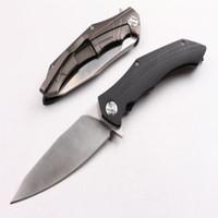 I più recenti guerrieri raccomandati (gratis.wolfs export qualità) coltello 58-60hrc camping caccia coltello pieghevole coltello 1 pz spedizione gratuita