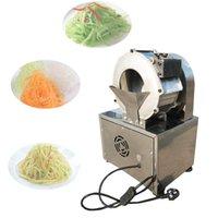 Venta caliente Comercial Acero inoxidable Zanahoria eléctrica Patata Slicadora Radish Col Chopper Slicer Leek Chopper Slicer