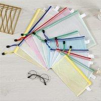 Прозрачная сумка для сетки водонепроницаемая сумка для документов A4 A5 A6 Office и школьный поставщик Сумка A13