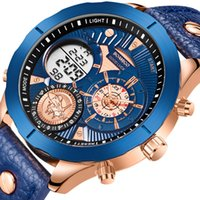 Reloj Hombre Boamigo 2020 военные моды мужские часы верхний бренд роскошный большой спортивный цифровой аналоговый кожаный кварцевый часы для мужчин lj201126