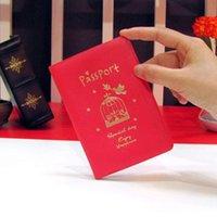Capa de Passaporte Mulheres Homens Pu Couro Capa no Passport ID Credit Card Holderbrand Unisex Travel Passport Holder H Jllzeb