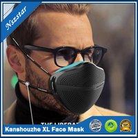 قابلة لإعادة الاستخدام XL قناع الوجه مع مرشحات 5 قطع قناع الوجه الكبار مع تنفس تنفس صمام واقية الفم غطاء أقنعة kanshouzhe dhl