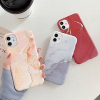 Gradient Marble Phone Case For iPhone 12 11 Pro Max XR XS Ma...