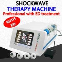 2020 Gainswave 5MJ Mochouflution de la machine de périphérique de physiothérapie à faible intensité pour le traitement de la vague ED / choc pour la libération de la douleur