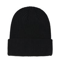 Yeni Fransa Moda Beanies Şapka Bonnet Kış Beanie Örme Yün Şapka Artı Kadife Kap Skullies Kalın Maske Saçak Şapkalar Adam