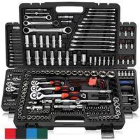 Conjuntos de ferramentas de mão profissional 46pcs conjunto de reparo do carro conjunto rápido catraca de encaixe de encaixe de embalagem combinação de chave de ferramentas de combinação de chave de ferramentas de fenda