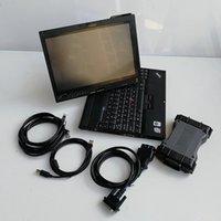 Diagnóstico de Estrela MB C6 MB Star C6 VCI SD Conectar C6 Doip Diagnóstico VCI com Soft-ware grátis V2020.06 SSD Instalar em X201T Laptop I7 8G