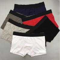 5 unids / lote diseño para hombre ropa interior boxeador breve calzoncillos de algodón flores hombres vintage sexy cueca boxeadores transpirable adulto hombre gay shorts