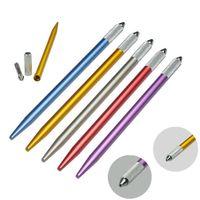 Microblading القلم الوشم آلة ماكياج دائم الحاجب دليل القلم الحاجب الشفاه التطريز تلميح حامل أداة