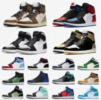 1 Basketball Shoes 1 Running Shoes 농구 신발 육상 운동화 실행 신발 여성 스포츠 토치 토끼 게임 로얄 소나무 녹색 코트 상자 Eur 36-46