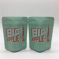 2020 كبير التفاح الأزرق الكوكيز mylar أكياس التعبئة والتغليف مايلر أكياس البلاستيك كاليفورنيا الكوكيز SF 8th 3.5g رائحة برهان الطفل سستة حقيبة